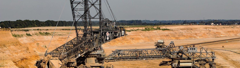 Maschinen im Bergbau