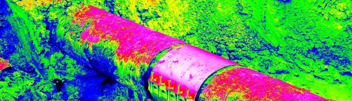 Thermografie von Rohranlagen