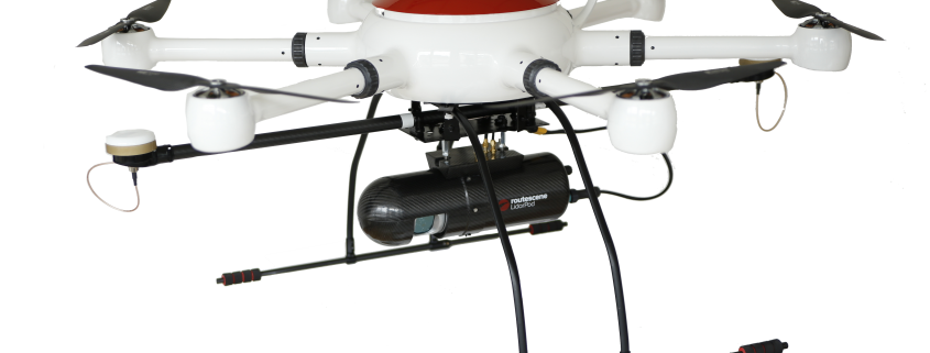 ConVecDro LIDAR drone package